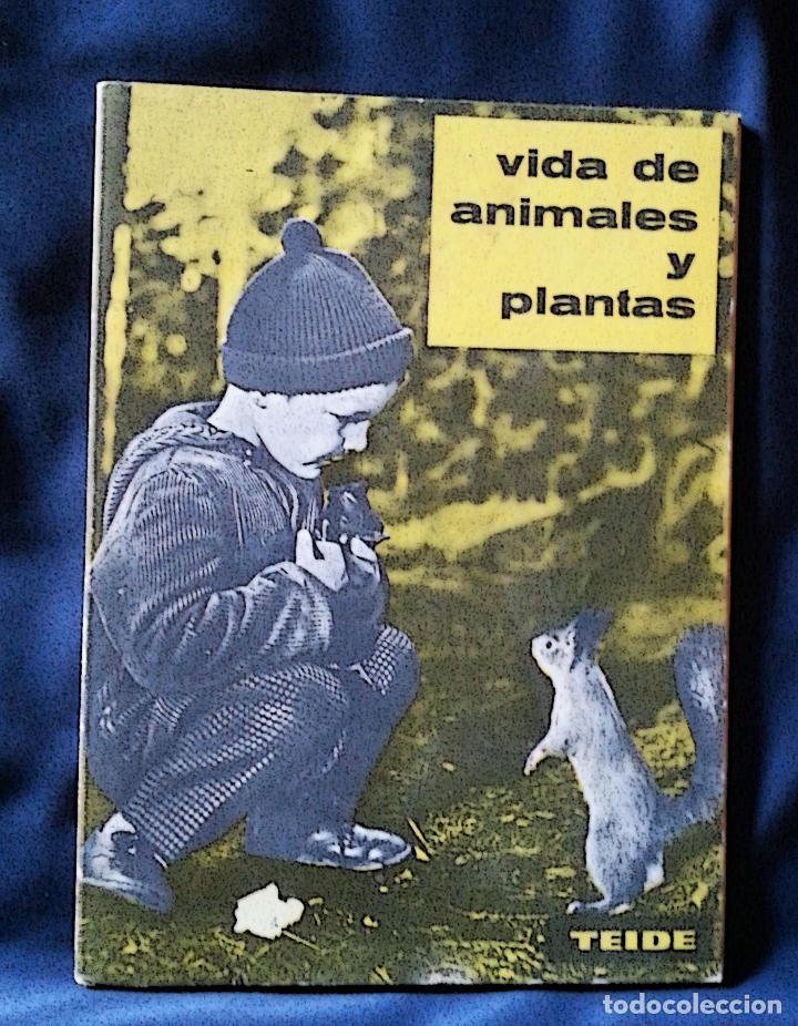 Libros de segunda mano: VIDA DE ANIMALES Y PLANTAS | ATKINSON | PARANINFO 1963 - Foto 2 - 118845435