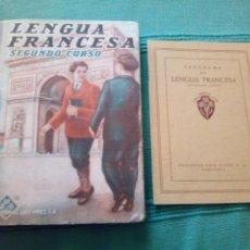 Libros de segunda mano: LENGUA FRANCESA SEGUNDO CURSO LUIS VIVES INCLUYE PROGRAMA. Lote 119344155