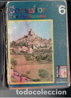 CONSULTOR 6. CIENCIA SOCIALES (Libros de Segunda Mano - Libros de Texto )