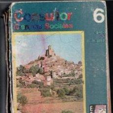 Libros de segunda mano: CONSULTOR 6. CIENCIA SOCIALES. Lote 119953779