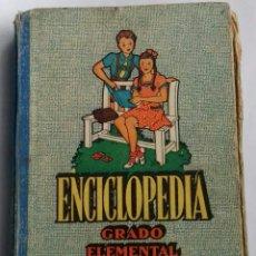 Libros de segunda mano: ENCICLOPEDIA GRADO ELEMENTAL. Lote 120315684