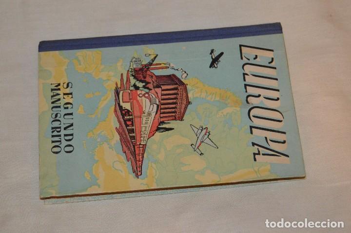 Gebrauchte Bücher: ANTIGUO LIBRO DE TEXTO - EUROPA - SEGUNDO MANUSCRITO - DALMÁU CARLES, PLA - AÑOS 60 - HAZME UNA OFER - Foto 2 - 120508735