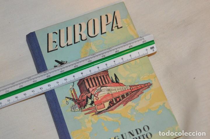 Gebrauchte Bücher: ANTIGUO LIBRO DE TEXTO - EUROPA - SEGUNDO MANUSCRITO - DALMÁU CARLES, PLA - AÑOS 60 - HAZME UNA OFER - Foto 12 - 120508735
