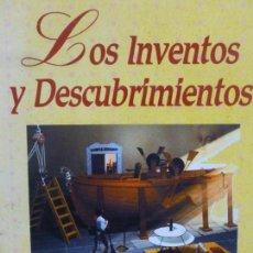 Libros de segunda mano: LOS INVENTOS Y DESCUBRIMIENTOS. JORGE GONZÁLEZ GALLO, EDITORIAL AÑIL, TAPA DURA, BUEN ESTADO.. Lote 120732571