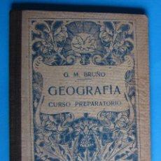 Libros de segunda mano: GEOGRAFÍA CURSO GRADO PREPARATORIO. EDICIONES BRUÑO. LA INSTRUCCIÓN POPULAR, 1941. . Lote 120939507