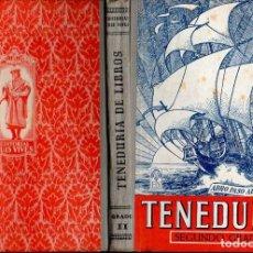 Libros de segunda mano: TENEDURÍA SEGUNDO GRADO EDELVIVES (1951). Lote 121197843