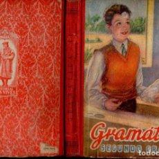Libros de segunda mano: GRAMÁTICA SEGUNDO GRADO EDELVIVES (1947). Lote 121197955