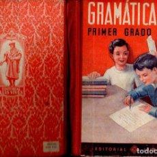 Libros de segunda mano: GRAMÁTICA PRIMER GRADO EDELVIVES (1947). Lote 121198051