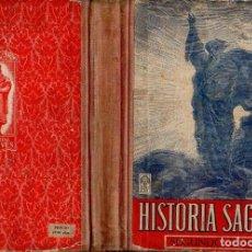 Libros de segunda mano: HISTORIA SAGRADA SEGUNDO GRADO EDELVIVES (1947). Lote 121198143