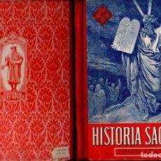 Libros de segunda mano: HISTORIA SAGRADA PRIMER GRADO EDELVIVES (1947). Lote 121198251