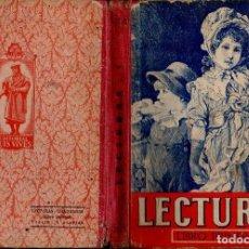 Libros de segunda mano: LECTURAS LIBRO PRIMERO EDELVIVES (1944). Lote 121198355