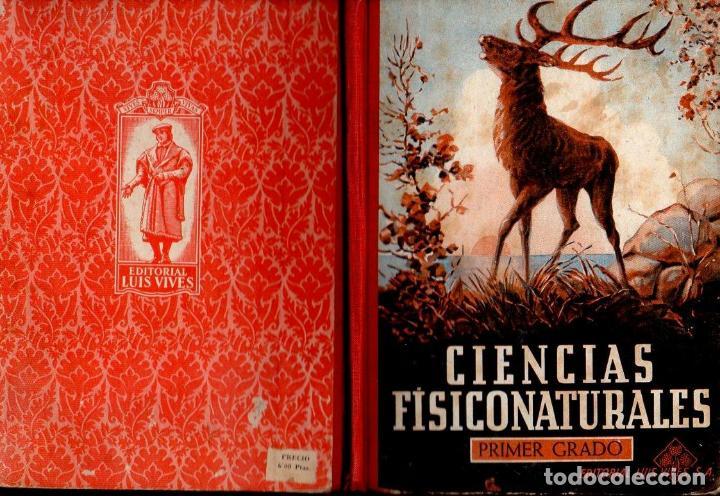 CIENCIAS FISICONATURALES PRIMER GRADO EDELVIVES 1946 (Libros de Segunda Mano - Libros de Texto )
