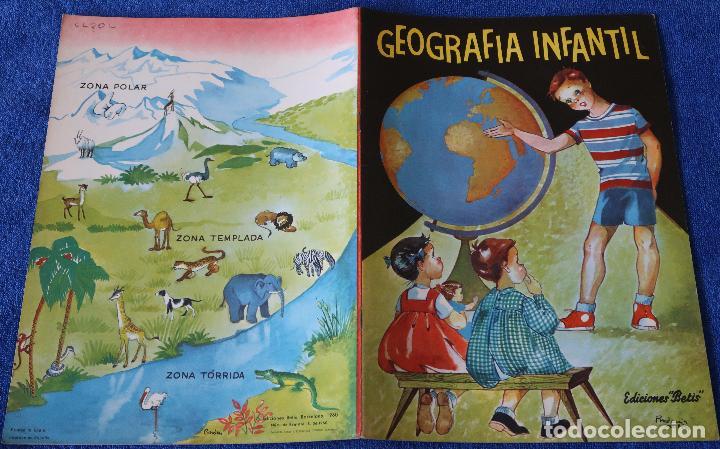 Libros de segunda mano: Geografía Infantil - Ediciones Betis (1960) - Foto 4 - 121483423