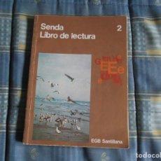 Libros de segunda mano: LIBRO LECTURA SENDA2 SANTILLANA. Lote 121525855