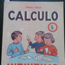 Libros de segunda mano: INTUITIVO - CÁLCULO - 5 ED. PAIDEIA 1975. Lote 121802219