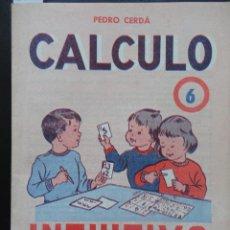 Libros de segunda mano: INTUITIVO - CÁLCULO - 6 ED. PAIDEIA 1975. Lote 121802331
