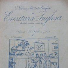 Libros de segunda mano: ESCRITURA INGLESA. 3º CUADERNO.SATURNINO CALLEJA. Lote 121803307