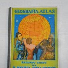 Libros de segunda mano: GEOGRAFIA ATLAS SEGUNDO GRADO.- DR. RAFAEL BALLESTER.- DALMAU CARLES PLA EDITORES. TDK346. Lote 121980783