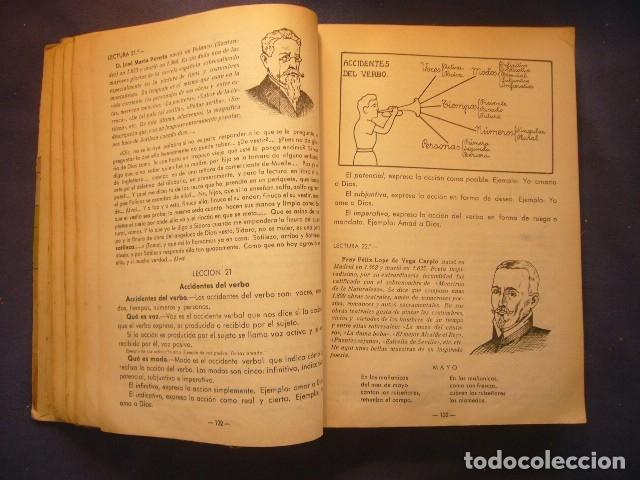 Gebrauchte Bücher: ANTONIO ALVAREZ: - ENCICLOPEDIA INTUITIVA -SINTETICA - PRACTICA. TERCER GRADO - (ZAMORA, 1954) - Foto 4 - 122199727