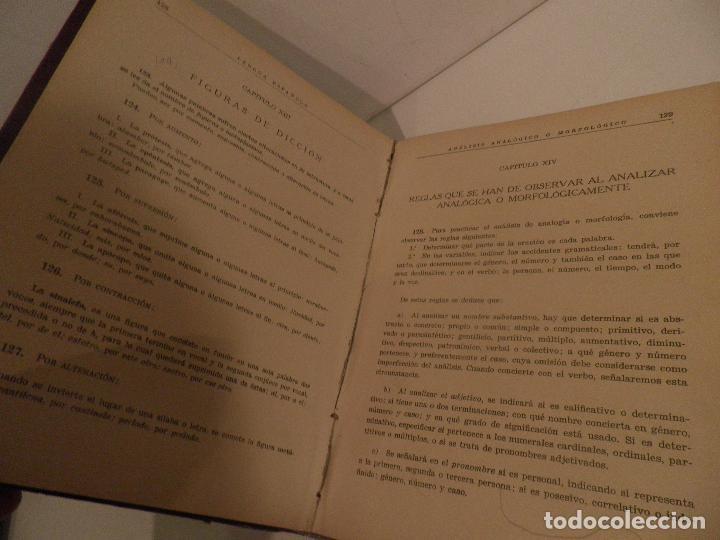 Libros de segunda mano: Practicas de analisis gramatical, Luis Miranda Podadera, Burgos, 1939 - Foto 10 - 209036962