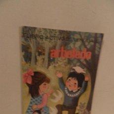 Libros de segunda mano: LIBRO ACTIVO DEL LENGUAJE ARBOLEDA 2º CURSO SANTILLANA EDICIONES 1970. Lote 122230843