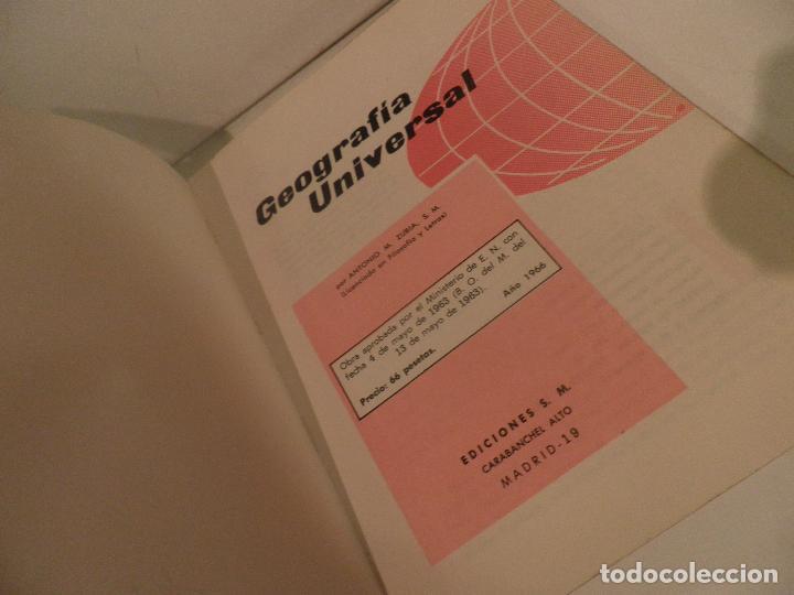 Libros de segunda mano: LIBRO DE TEXTO - GEOGRAFÍA UNIVERSAL - 2° CURSO - ANTONIO M. ZUBIA - SM 1964 - Foto 6 - 122234263