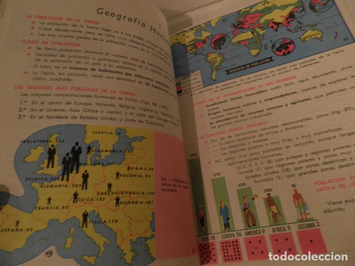 Libros de segunda mano: LIBRO DE TEXTO - GEOGRAFÍA UNIVERSAL - 2° CURSO - ANTONIO M. ZUBIA - SM 1964 - Foto 8 - 122234263