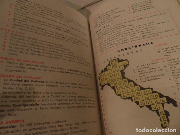 Libros de segunda mano: LIBRO DE TEXTO - GEOGRAFÍA UNIVERSAL - 2° CURSO - ANTONIO M. ZUBIA - SM 1964 - Foto 10 - 122234263