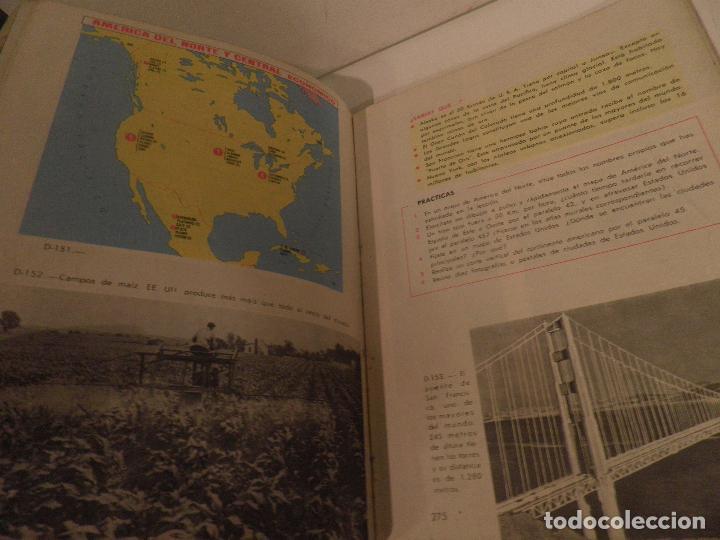Libros de segunda mano: LIBRO DE TEXTO - GEOGRAFÍA UNIVERSAL - 2° CURSO - ANTONIO M. ZUBIA - SM 1964 - Foto 12 - 122234263