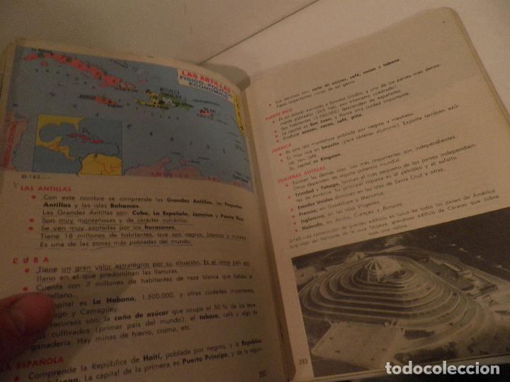 Libros de segunda mano: LIBRO DE TEXTO - GEOGRAFÍA UNIVERSAL - 2° CURSO - ANTONIO M. ZUBIA - SM 1964 - Foto 13 - 122234263