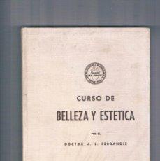 Libros de segunda mano: CURSO DE BELLEZA Y ESTETICA DOCTOR FERRANDIZ ESCUELA ESPAÑOLA DE QUIROMASAJE. Lote 122791635