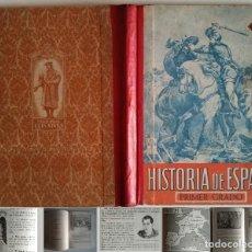 Libros de segunda mano: 1951 HISTORIA DE ESPAÑA PRIMER GRADO EDITORIAL VIVES 128 PÁGINAS LIBROS DE TEXTO ESCUELA R50. Lote 123599523