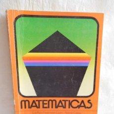 Libros de segunda mano: LIBRO DE TEXTO, MATEMÁTICAS 5º. ANAYA. EGB. 1982. SERIE CONTAR.. Lote 124212563