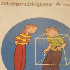 Libros de segunda mano: CPB2//MATEMÀTIQUES 4//SANTILLANA. Lote 124266135