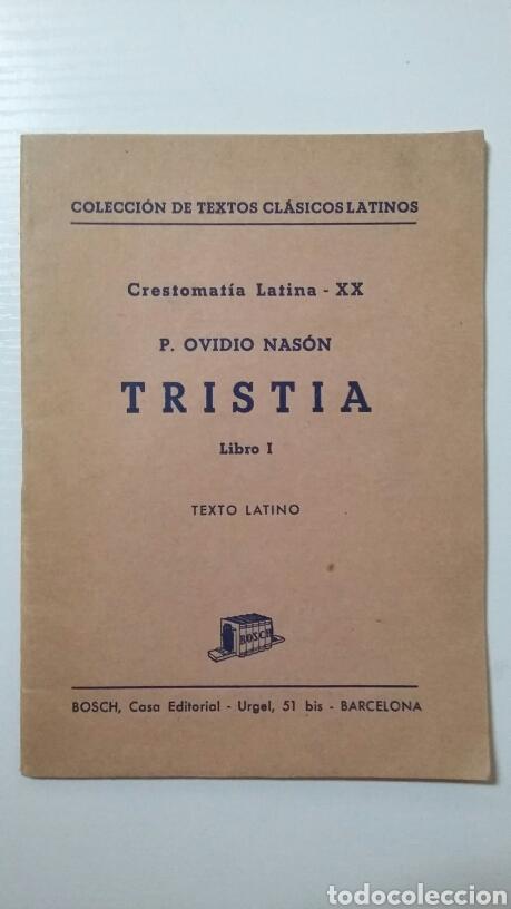 CRESTOMATÍA LATINA-XX. P. OVIEDO NASÓN. 1973 (Libros de Segunda Mano - Libros de Texto )