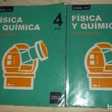 Libros de segunda mano: FÍSICA Y QUÍMICA 4º DE LA ESO - INICIO DUAL - OXFORD EDUCACIÓN - DOS VOLÚMENES - 2016. Lote 124316519
