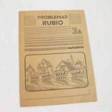 Libros de segunda mano: CUADERNO DE EJERCICIOS DE PROBLEMAS RUBIO 3A - MULTIPLICAR - 1977 - SIN ESTRENAR. Lote 124538407