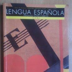 Libros de segunda mano: LIBRO TEXTO LENGUA ESPAÑOLA COU FERNANDO LÁZARO CARRETER ANAYA. Lote 192485742