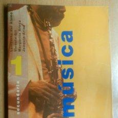 Libros de segunda mano: LIBRO TEXTO MUSICA 1 SECUNDARIA SM 1999. Lote 125103107