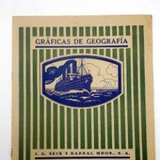 Libri di seconda mano: GRÁFICAS DE GEOGRAFÍA 3 (NO ACREDITADO) SEIX BARRAL, 1946. Lote 125305199