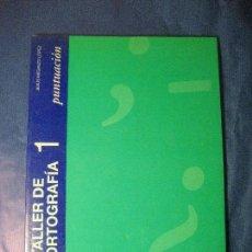 Libros de segunda mano: TALLER DE ORTOGRAFIA 1. Lote 125337883