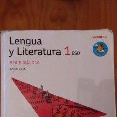 Libros de segunda mano: LENGUA Y LITERATURA 1 ESO ANDALUCIA 2010 VOLUMEN 2 EDITA: GRAZALEMA - SANTILLANA . Lote 125428683