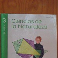 Libros de segunda mano: CIENCIAS DE LA NATURALEZA 3 PRIMARIA . ANDALUCIA 2015 . EDICIONES GRAZALEMA - SANTILLANA . Lote 125434039