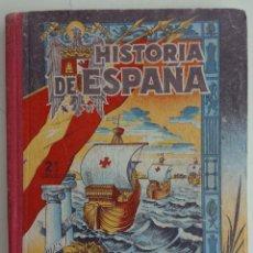 Libros de segunda mano: HISTORIA DE ESPAÑA 2º GRADO AÑO 1951. Lote 125458967