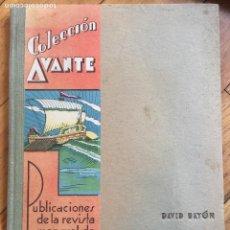 Libros de segunda mano: LECCIONES DE MATEMATICAS. COLECCION AVANTE. 1934. TAPAS DURAS. EXCELENTE. Lote 126079583