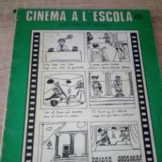 Libros de segunda mano: CINEMA A L'ESCOLA I - MATERIALS DE TREBALL - AYUNTAMENT STA. COLOMA DE GRAMANET - 1º EDICIÓ 1982. Lote 126089651