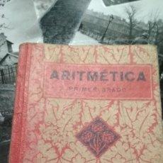 Libros de segunda mano: ARITMETICA PRIMER GRADO.EDELVIVES 1937.(II AÑO TRIUNFAL). Lote 126215235