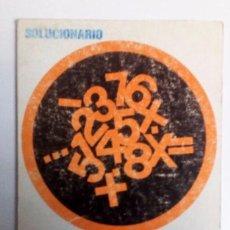 Libros de segunda mano: SOLUCIONARIO TEMAS, TESTS Y EJERCICIOS DE CULTURA GENERAL EDITORIAL CULTURAL VIZCAINA 1972.. Lote 126369675