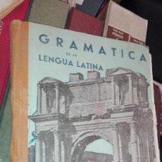 Libros de segunda mano: GRAMATICA DE LA LENGUA LATINA - JESUS GARCIA PASTOR - EDICIONES PAIDEIA . Lote 163479314
