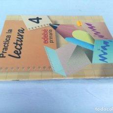 Libros de segunda mano: PRACTICA LA LECTURA-EDEBE-4 PRIMARIA-ISBN 84-236-6656-5. Lote 219830132